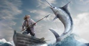 Phân tích hình tượng Ông già trong Ông già và biển cả